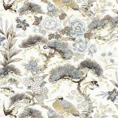 16601-001 SHENYANG LINEN PRINT Parchment Scalamandre Fabric