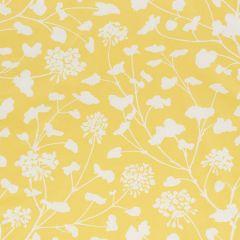 178540 PENNICK CHINTZ Yellow Schumacher Fabric