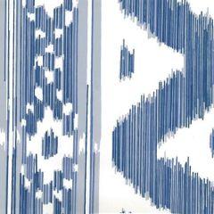 2020-01AWP BALI HAI Multi Blues On Almost White Quadrille Wallpaper