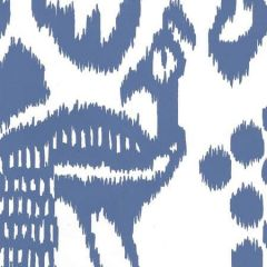 2435-47WP BALI ISLE New Navy On Almost White Quadrille Wallpaper