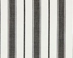 27110-005 SCONSET STRIPE Carbon Scalamandre Fabric