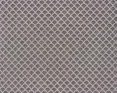27137-004 SCALLOP WEAVE Smoke Scalamandre Fabric