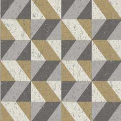 2896-25311 Cerium Concrete Geometric Moss Brewster Wallpaper
