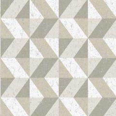 2896-25313 Cerium Concrete Geometric Dark Grey Brewster Wallpaper