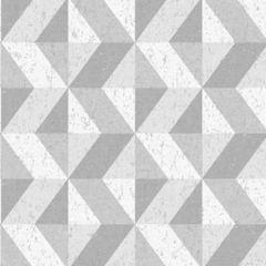 2896-25314 Cerium Concrete Geometric Grey Brewster Wallpaper