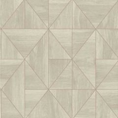 2896-25324 Cheverny Wood Tile Grey Brewster Wallpaper