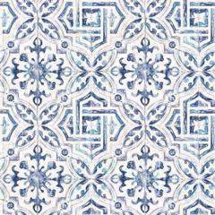 2904-12332 Sonoma Spanish Tile Navy Brewster Wallpaper