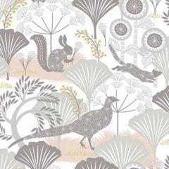 2904-1471 Skog Woodland Forest Neutral Brewster Wallpaper