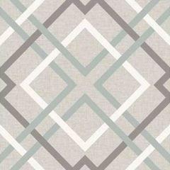 2904-22649 Saltire Geometric Taupe Brewster Wallpaper