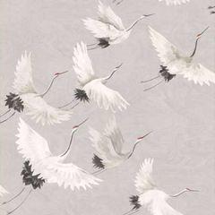 2904-24304 Windsong Bird Grey Brewster Wallpaper