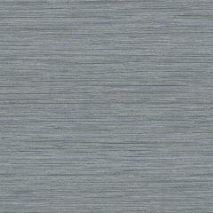 2964-25963 Barnaby Faux Grasscloth Slate Brewster Wallpaper