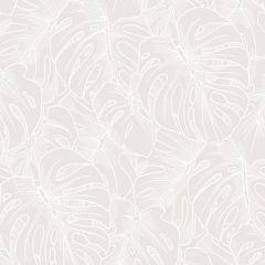 2964-87340 Balboa Botanical White Brewster Wallpaper