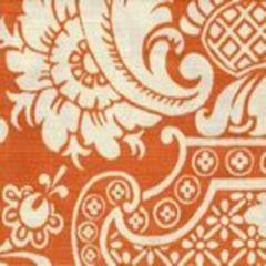 302177F ESTE REVERSE Terracotta on Tint Quadrille Fabric