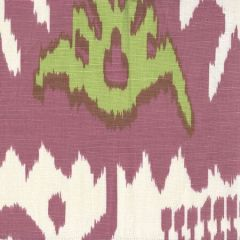 302830C-01 KAZAK Magenta Lime on Tint Quadrille Fabric