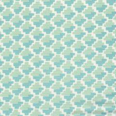 303720F-08 IL GIOCO Moss Green on Light Tint Quadrille Fabric