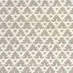 304046F VOLPI Grey on Tint  Quadrille Fabric