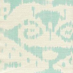 306044F MALAYA Pale Aqua on Tint Quadrille Fabric