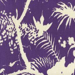 306233F TROPIQUE BLOTCH ONE COLOR Purple on Tint Quadrille Fabric