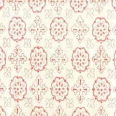 306302CTTN CRAWFORD Multi Salmons Quadrille Fabric
