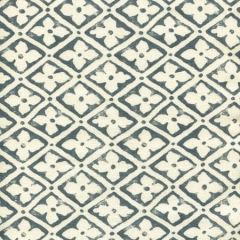 306330F-07 PUCCINI Slate on Tinted Linen Quadrille Fabric