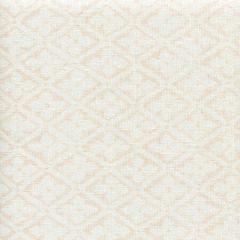306330F-SPEACH PUCCINI Soft Peach on White Linen Quadrille Fabric