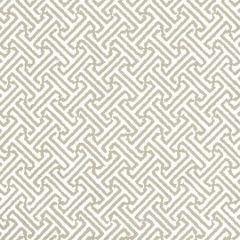 3080-14WP JAVA JAVA Greige On White Quadrille Wallpaper