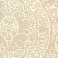 352000W-02OWP VENETO Beige On Off White Quadrille Wallpaper