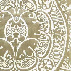 352000W-10OWP VENETO Gold Metallic On Off White Quadrille Wallpaper