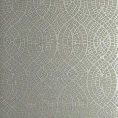 50276W WEDGEPORT Pewter Sheen 03 Fabricut Wallpaper