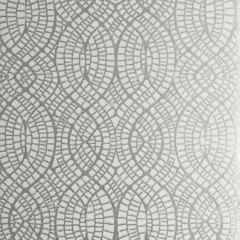 50276W WEDGEPORT Silver Ivory 01 Fabricut Wallpaper