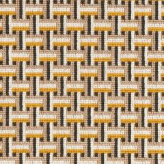 76972 SAXON EPINGLE Ochre Schumacher Fabric