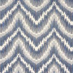 77192 VON ARMIN Blue Schumacher Fabric