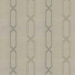 BREVE STRIATION Sea Fabricut Fabric