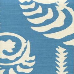 AC101R-06 FERNS UNI REVERSE New Cadet on Tint Quadrille Fabric