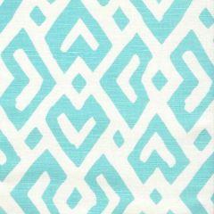 AC115-05 JUAN LES PINS Turquoise on Tint Quadrille Fabric