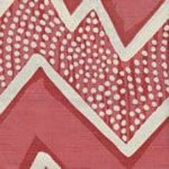 AC250-10 MONTECITO Coral on Tint Quadrille Fabric