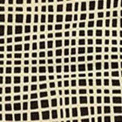 AC403-16 CRISS CROSS Brown on Tint Quadrille Fabric