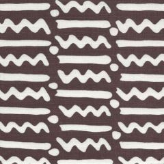 AC407-09TLC JAYBEE REVERSE New Brown on Tint Quadrille Fabric