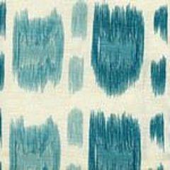 AC704-10CU CINTRA Multi Turquoise on Tint Quadrille Fabric