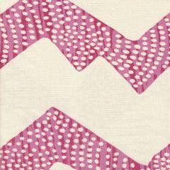 AC720-10 MOJAVE ZIG ZAG Corals on Tint Quadrille Fabric