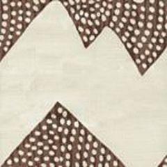 AC720-16 MOJAVE ZIG ZAG Brown on Tint Quadrille Fabric
