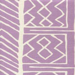 AC812-02 ARUBA II BACKGROUND Lavender on Tint Quadrille Fabric