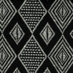 AC855-11 SAFARI Black on Tint Quadrille Fabric