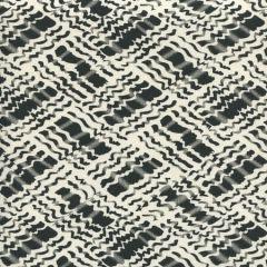 AC860-09 BAHA II Black on Tint Quadrille Fabric
