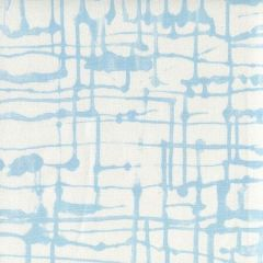 AC990-02 TWILL Sky Blue on White Quadrille Fabric