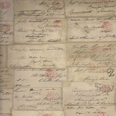 AMW10043-16 LOVE LETTER Parchment Kravet Wallpaper