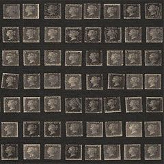 AMW10045-816 PENNY POST Charcoal Kravet Wallpaper