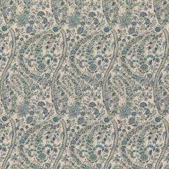 BP10835-1 BUKHARA PAISLEY Blue GP & J Baker Fabric