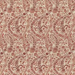 BP10835-2 BUKHARA PAISLEY Red GP & J Baker Fabric