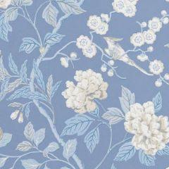 BW45000-9 EMPEROR'S GARDEN Blue GP & J Baker Wallpaper
